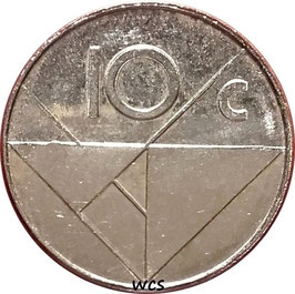 Aruba 10 Cents 1986-2016 KM#2