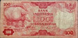 Indonesia 100 Rupiah 1977 P.116 F