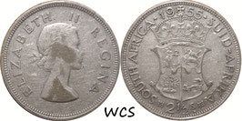 South Africa 2½ Shillings 1955 KM#51 F (1)