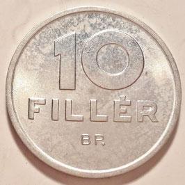 Hungary 10 Filler 1992 KM#675 UNC