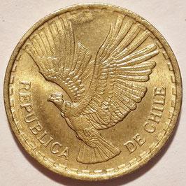 Chile 2 Centesimos 1960-1970 KM#193