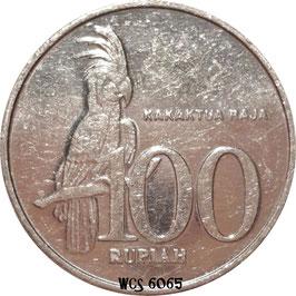 Indonesia 100 Rupiah 1999-2008 KM#61