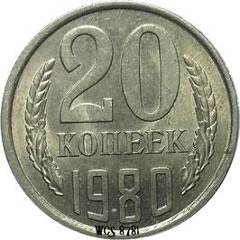 Soviet Union 20 Kopeks 1961-1991 Y#132