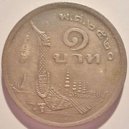 Thailand 1 Baht 1977 Y#110