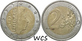 Luxembourg 2 Euro 2007-Date KM#93