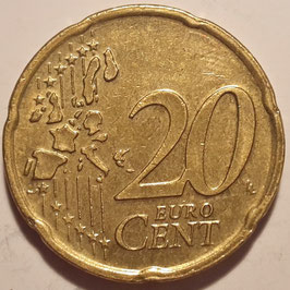 Netherlands 20 Cents 1999-2006 KM#238