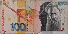 Slovenia 100 Tolarjev 15.01.1992 G