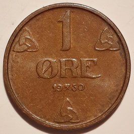 Norway 1 Øre 1908-1952 KM#367