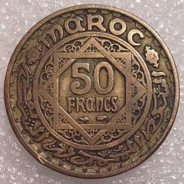 Morocco 50 Francs 1952 (1371) Y#51 VF