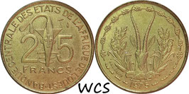 West African States 25 Francs 1970-1979 KM#5
