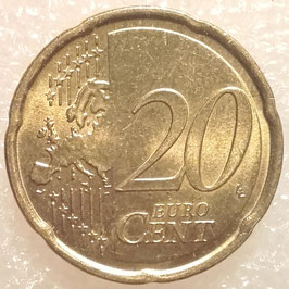 Portugal 20 Cents 2009 KM#764 XF-