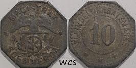 Saxony - Soemmerda 10 Pfennig no date Funck#503.2 VF-