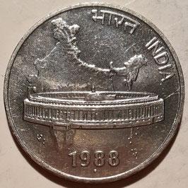 India 50 Paise 1988-2007 KM#69