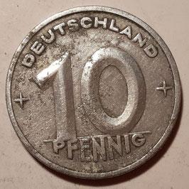 GDR 10 Pfennig 1948-1950 KM#3
