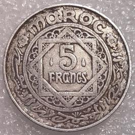 Morocco 5 Francs 1951 (1370) Y#48 VF
