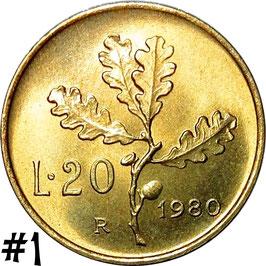 Italy 20 Lire 1957-2001 KM#97