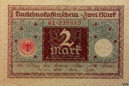 Germany 2 Mark 01.03.1920 Ro 65a Series 61 UNC