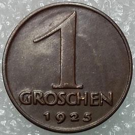 Austria 1 Groschen 1925-1938 KM#2836