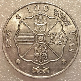Spain 100 Pesetas 1966 /1968 KM#797 VF