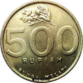 Indonesia 500 Rupiah 1997-2003 KM#59