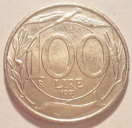 Italy 100 Lire 1993-2001 KM#159