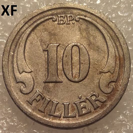 Hungary 10 Filler 1940-1942 KM#507a