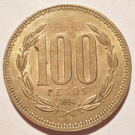 Chile 100 Pesos 1981-2000 KM#226