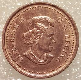 Canada 1 Cent 2003-2012 non-magnetic KM#490