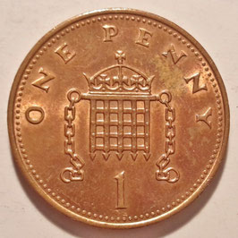 Great Britain 1 Penny 1985-1992 KM#935