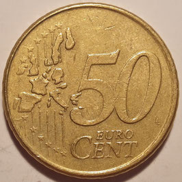 Netherlands 50 Cents 1999-2006 KM#239