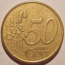 Netherlands 50 Cents 1999-2006 KM#239
