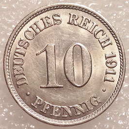 German Empire 10 Pfennig 1910-1916 KM#12 (3)