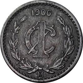 Mexico 1 Centavo 1905-1949 KM#415