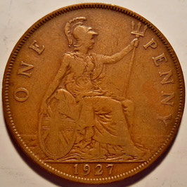 Great Britain 1 Penny 1926-1927 KM#826