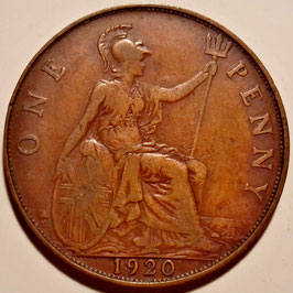 Great Britain 1 Penny 1911-1926 KM#810