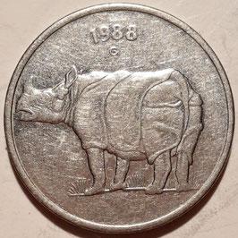 India 25 Paise 1988-2002 KM#54