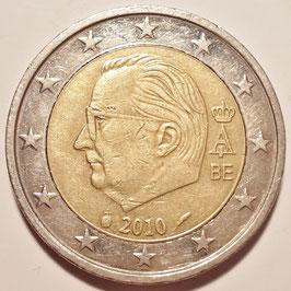 Belgium 2 Euro 2009-2013 KM#302