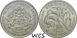 Saint Lucia 4Dollars F.A.O.1970 KM#11 UNC