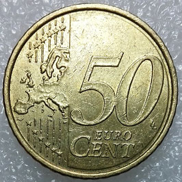 Portugal 50 Cents 2009 KM#745 VF-