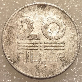 Hungary 20 Filler 1953-1966 KM#550