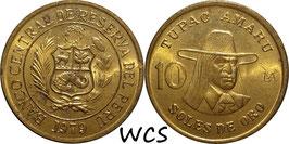 Peru 10 Soles 1978-1983