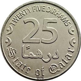 Qatar 25 Dirhams 2016 KM#- XF