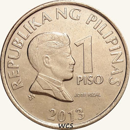 Philippines 1 Piso 2003-2017 KM#269a (magnetic)