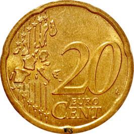 Austria 20 Cents 2002-2007 KM#3086