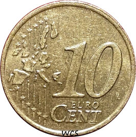 Ireland 10 Cents 2002-2006 KM#35