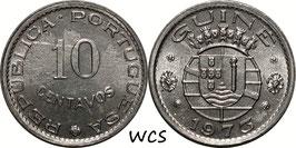 Guinea-Bissau 10 Centavos 1973 KM#12 UNC-