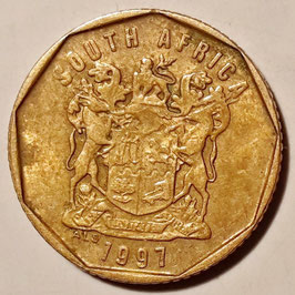 South Africa 10 Cents 1996-2000 KM#161