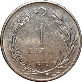 Turkey 1 Lira 1967-1980 KM#889a.2