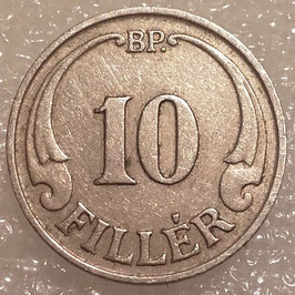 Hungary 10 Filler 1926-1940 KM#507