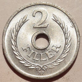 Hungary 2 Filler 1950-1989 KM#546